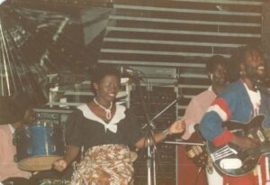Golden Voice competition at Moon City Club, Lusaka, Zambia 1984