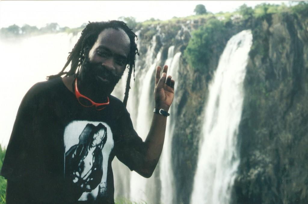 At Musi O Tunya (Victoria Falls), Livingstone, Zambia