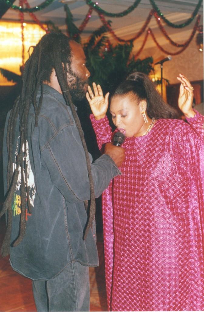 With Yvonne Chaka Chaka