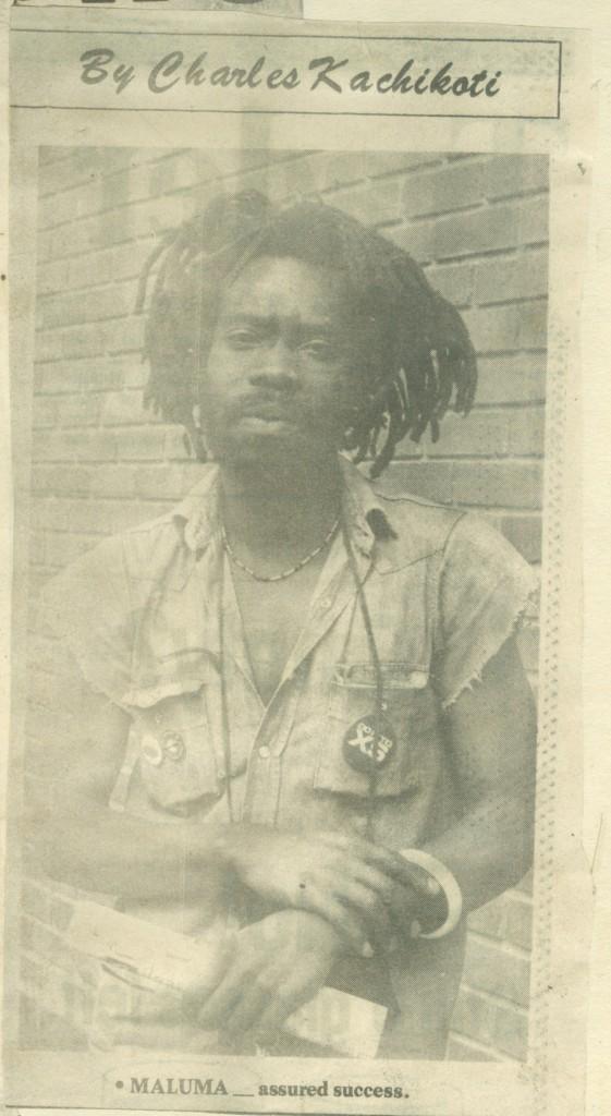 MALUMA - assured success. Zambia Daily Mail-1985