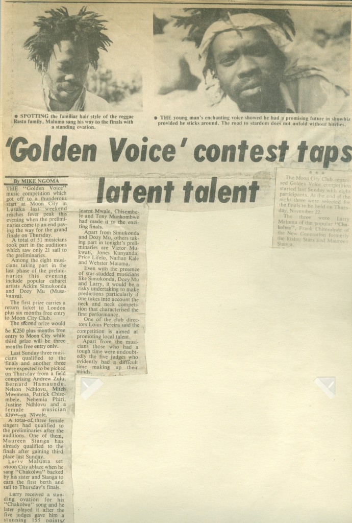 """Golden Voice1984"" competition"