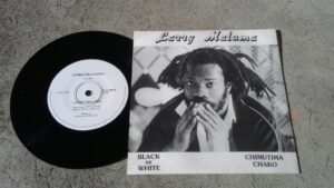 Larry Maluma's first 45 single vinyl release DownUnder in 1986.